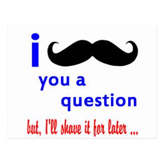 髭質問QPCテンプレート ポストカード