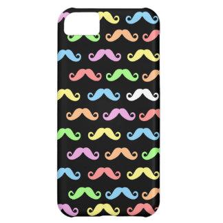 髭(黒)の多く iPhone5Cケース