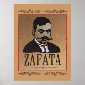 髭- Emiliano Zapata ポスター