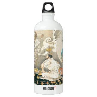 鬼に直面している修道士 ウォーターボトル