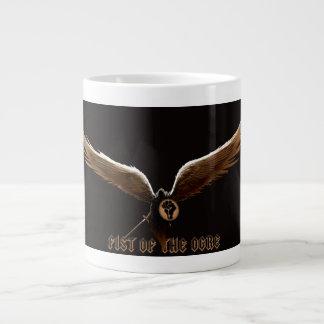 鬼のコーヒー・マグの握りこぶし ジャンボコーヒーマグカップ