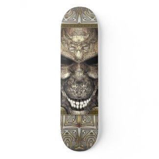 鬼のスカル オリジナルスケートボード