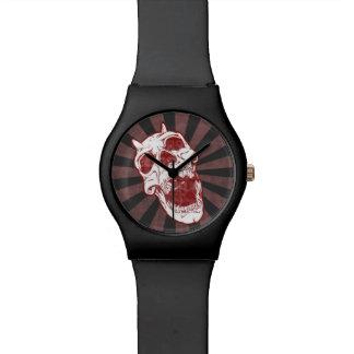 鬼のスカル 腕時計