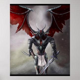 鬼の騎士 ポスター