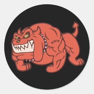 鬼犬 ラウンドシール