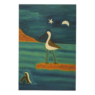 魅了された島2007年 ウッドウォールアート