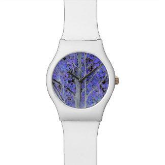 魅了された木の腕時計 腕時計