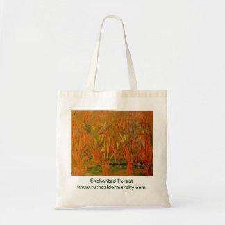 魅了された森林バッグ トートバッグ