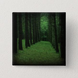 魅了された森林ボタン 5.1CM 正方形バッジ