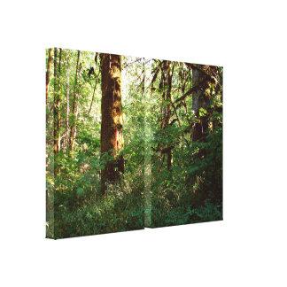 魅了された森林伸張のキャンバスのプリント キャンバスプリント
