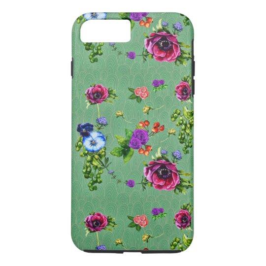 魅了された森林花柄 iPhone 7 PLUSケース
