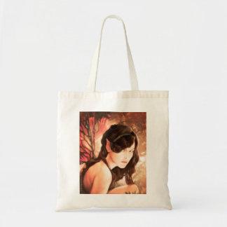 魅了された秋の妖精のトートバック トートバッグ