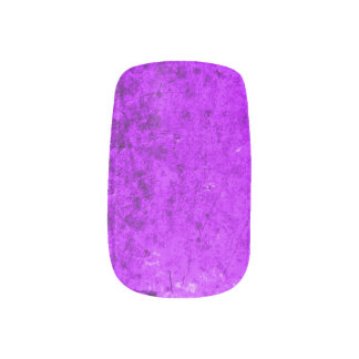 魅了された紫色の妖精の国 ネイルアート