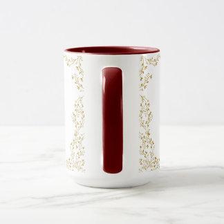 魅了された金赤面の主婦のマグ マグカップ