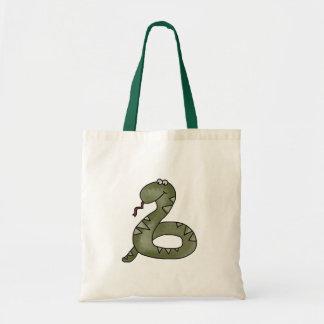 魅了されるヘビ トートバッグ