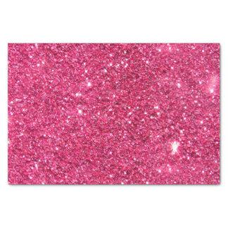 魅力のショッキングピンクのグリッター 薄葉紙