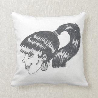 魅力の女の子の枕 クッション