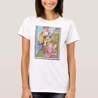魅力的なクリーニングの石鹸の広告 Tシャツ