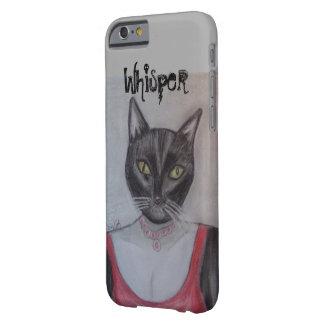 魅力的なタキシード猫 BARELY THERE iPhone 6 ケース
