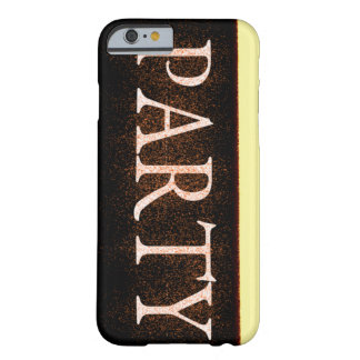 魅力的なパーティ BARELY THERE iPhone 6 ケース