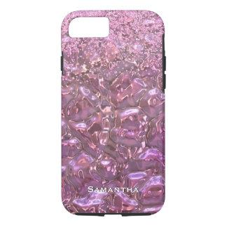 魅力的なピンクの白熱iPhone 7の場合 iPhone 8/7ケース