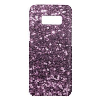 魅力的なラベンダーの紫色の模造のなグリッターのプリント Case-Mate SAMSUNG GALAXY S8ケース