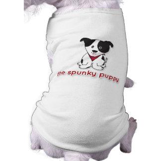 魅力的な子犬のロゴの衣服ペット衣類 ペット服