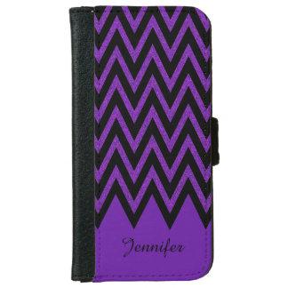 魅力的な紫色のシェブロンのiPhone 6のウォレットケース iPhone 6/6s ウォレットケース