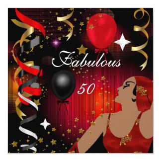 魅力的なFabulous 50女性50誕生会2 カード