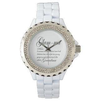 魅力的なMAの祖母定義 腕時計
