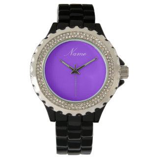 魅力|はあなたの名前を加えます 腕時計