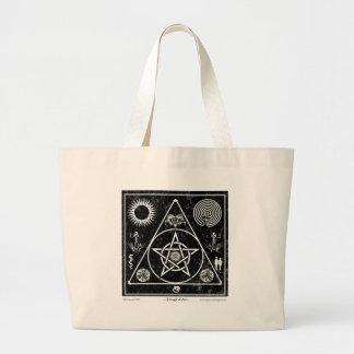 魔力: 芸術の三角形 ラージトートバッグ