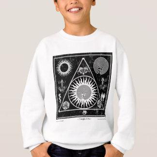 魔力: 芸術#4の三角形 スウェットシャツ