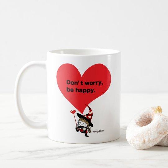 魔女メリーの元気の出るマグカップ コーヒーマグカップ