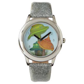 魔法のきのこ 腕時計