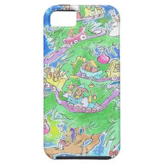 魔法のクリスマスツリー iPhone SE/5/5s ケース