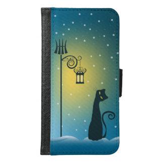 魔法のクリスマス猫 GALAXY S6 ウォレットケース