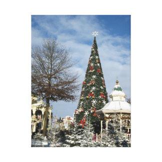 魔法のクリスマス キャンバスプリント