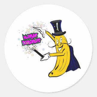 魔法のバナナ ラウンドシール