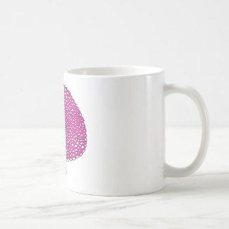 魔法のピンクのきのこ菌類 コーヒーマグカップ