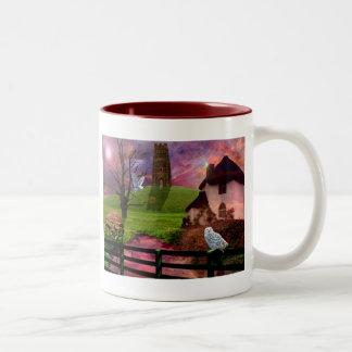 魔法のミステリー岩山… ツートーンマグカップ