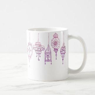 魔法のモロッコのランタンのマグ コーヒーマグカップ