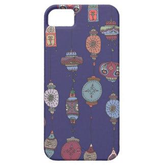 魔法のモロッコのランタンの濃紫色の電話箱 iPhone SE/5/5s ケース