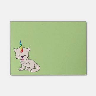 魔法のユニコーンの猫= Kittycorn ポストイット
