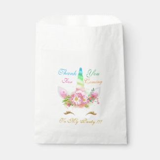 魔法のユニコーンの誕生日プレゼントの好意のバッグ フェイバーバッグ