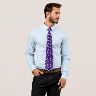 魔法のユニコーンパターン水彩画のファンタジーのデザイン ネクタイ
