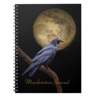 魔法のワタリガラスの明示ジャーナル ノートブック