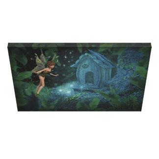 魔法の妖精のデザインのキャンバスのプリント キャンバスプリント
