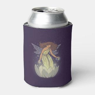 魔法の妖精の白い花の白熱ファンタジーの芸術 缶クーラー