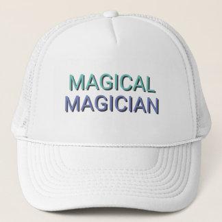 魔法の手品師の文字 キャップ